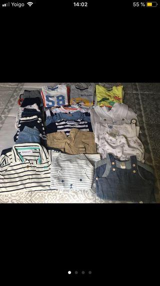 Lote de ropa de bebé verano talla 3-6 meses