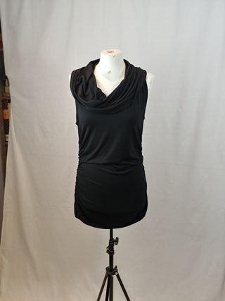 vestido negro ajustado nuevo de jaren kane