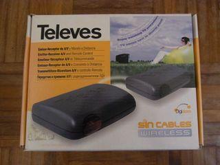 Emisor receptor A/V Televés sin cables