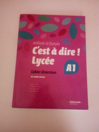libro de francés 1° Bachillerato