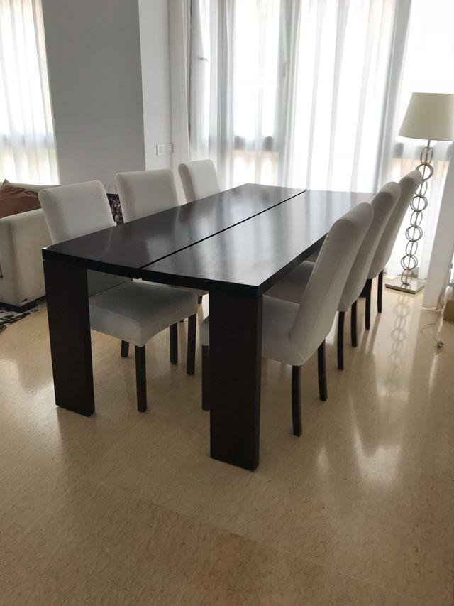 Mesa comedor diseño (vendo x mudanza) de segunda mano por 300 € en ...