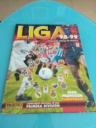 Album cromos liga 98-99