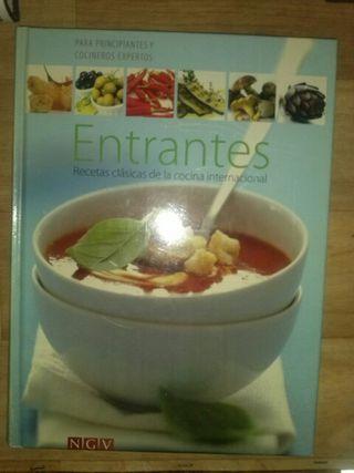 Entrantes Libro de cocina