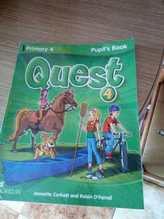 libro ingles 4 de primaria
