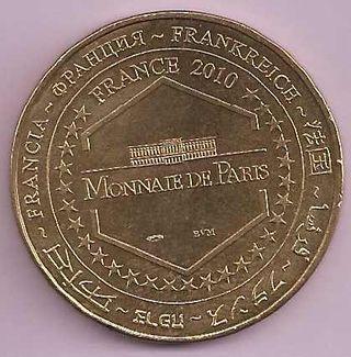 Monedas de Paris, 125 Anv. Sagrado Corazón. 2010