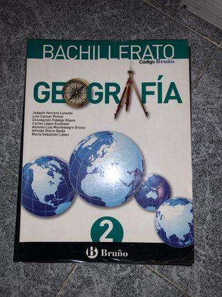 Libro Geografía 2º Bachillerato