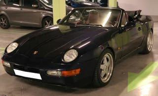 Porsche 968 Cabrio Maching Numbers
