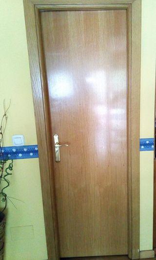Puerta de roble 2m x 73cm