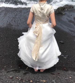 OCASIÓN!!!.Vestido primera comunión. Alta costura