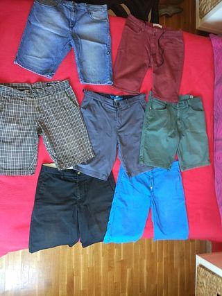 pantalones cortos surf / skate
