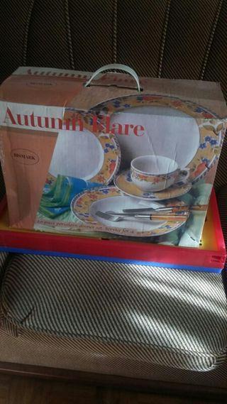 Juego / Set tazas desayuno NUEVO A ESTRENAR para 4