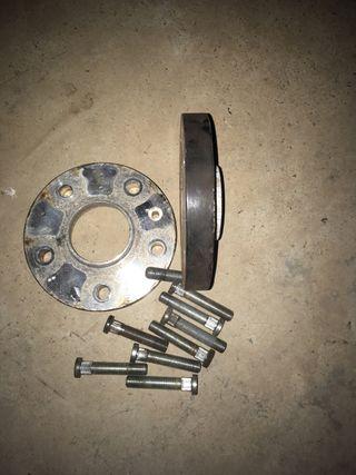 Honda Accord 2003-08 separadores 20 mm con tornillos
