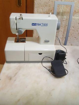 máquina coser wutex 2000