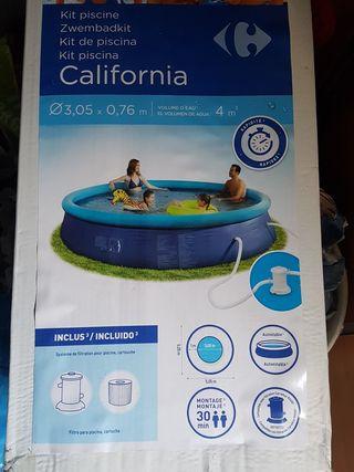 piscina infantil disponible en León.