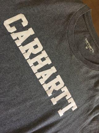 Camiseta Carhartt Talla M Color Gris
