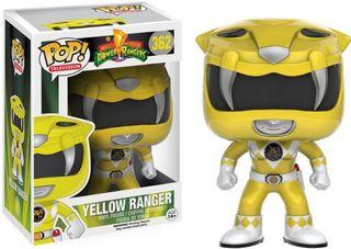 YELLOW RANGER POWER RANGERS POP