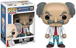 DR. WILY FIGURA 10 CM VINYL POP MEGAMAN