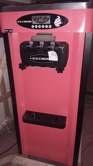 Nueva máquina helado soft sistema nocturno, 3grifo