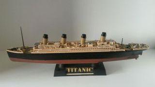 Maqueta del Titanic