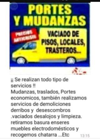 PORTES MUDANZAS DESESCONBROS BILBAO
