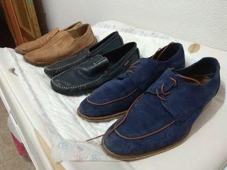 3 zapatos del 43