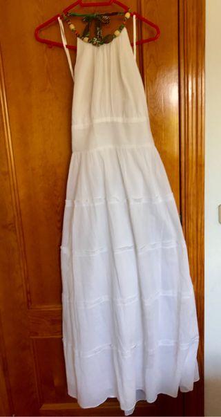 Vestido blanco talla 44