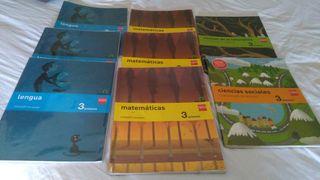 libros de texto de 3°de primaria SM