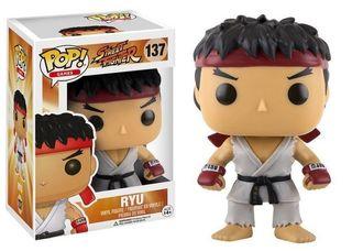 RYU FIGURA 10 CM VINYL POP GAMES STREET FIGHTER