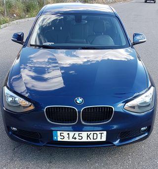 BMW SERIE 1 - 120D Año 2014.184 cv.154.000 KM Ver.