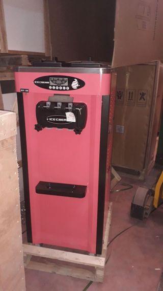 Nuevas máquinas helado soft con sistema de noche