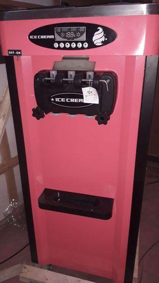 Nueva máquina helado soft sistema nocturno,3grifos