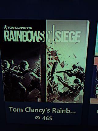 Rainbow siege xbox one