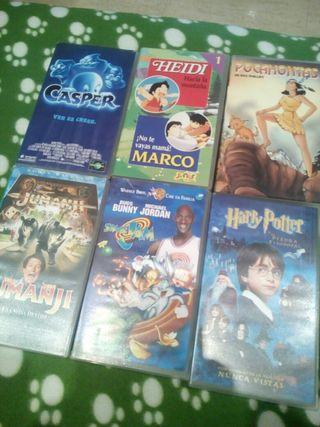 Cintas de video VHS