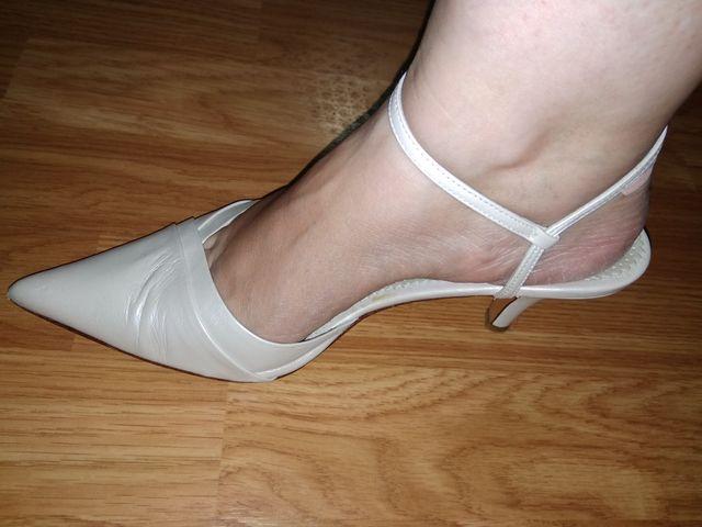 zapatos de novia de segunda mano por 7 € en cádiz en wallapop
