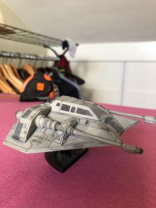 Aerodeslizador T-47 star wars pintado