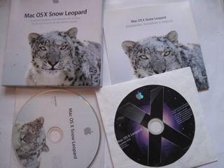mac OS X apple sistema operativo DVD disco discos