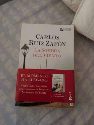 La sombra del viento. Carlos Ruiz Zafón.