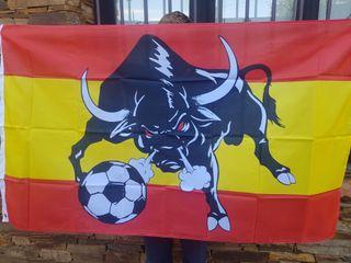 bandera de españa mundial de futbol