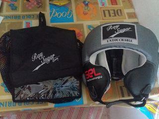 Vendo casco de boxeo ray sugar
