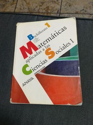 Libro 1 bachiller matemáticas aplicadas