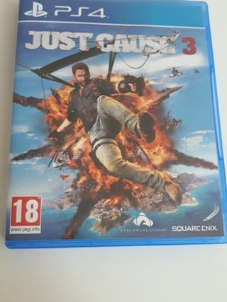 juego ps4 just cause3