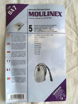 Bolsa aspiradora Moulinex BA7