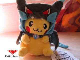 Peluche pokemon pikachu (tipo 2) negro