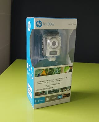 Camara de acción HP LC100W, estilo Go pro