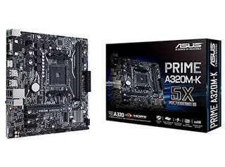 ASUS PRIME A320M-K (SOCKET AM4)