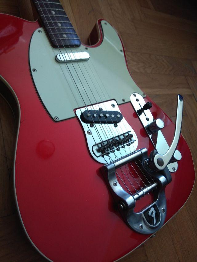 Fender Telecaster 62 Reissue Japan con Bigsby de segunda