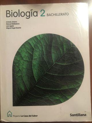 Libro Biología 2º bachiller
