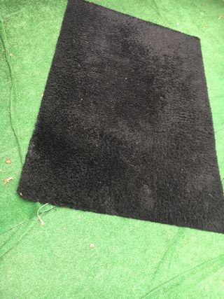 Alfombra negra ikea 1,95 x 1,35