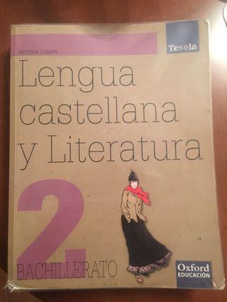 Libro Lengua Castellana 2º Bachiller