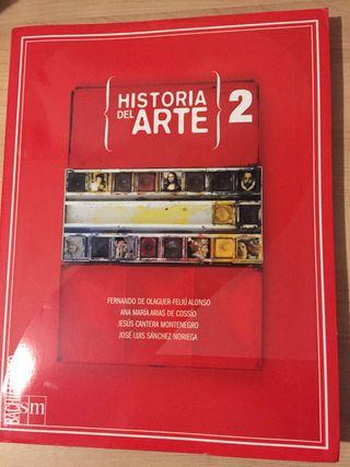 Libro de historia del arte, 2° bachillerato.